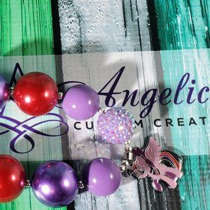 Twilight Sparkle Bubblegum Necklace